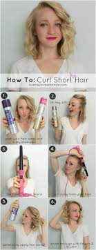 different ways to curl your hair with a wand how to make loose curls in short hair best short hair styles