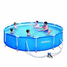 Intex 12x30 Pool Amazon Com Steel Pro 12 U0027 X 30