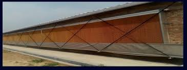 Pulley Curtain Systems Huabo Poultry Feeds Track With Pulley Curtain System Curtain