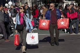 black friday target shoppers black friday violence at target and walmart frenzied shoppers in