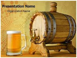 beer and barrel powerpoint template is one of the best powerpoint