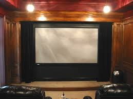 home theater curtain ideas home theater drapes home theatre classic brown wooden home theater