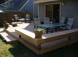 best 25 ground level deck ideas on pinterest deck with fire pit