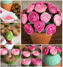 cupcake flowers best 25 cupcake flower pots ideas on cupcake flower