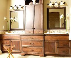 double sink vanity with middle tower bathroom vanity with tower cabinet bathroom vanity towers bathroom