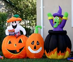 outside halloween decorations ideas image of haammss