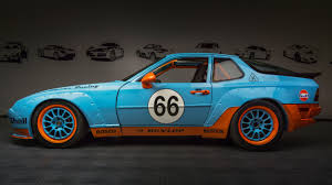 porsche racing colors porsche 944 gulf tribute by motor werks racing full 924 u0026 944 1 8