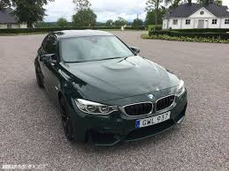 british racing green british racing green f80 m3 in sweden