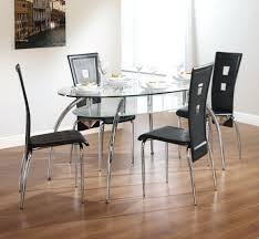 steel top dining table ideas of round metal glass top dining table tables for metal and