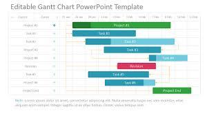 gantt chart powerpoint template 0026 02 editable project gantt