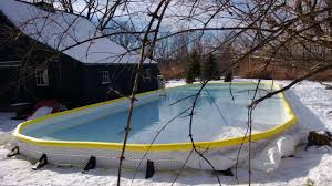 backyard ice rink in a box backyard and yard design for village