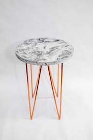 Concrete Side Table Circle Triangles Concrete And Copper A Side Table Vincent Buret