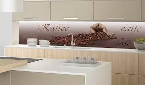 plexiglas für küche kaffeebohnen motiv küchenrückwand