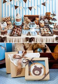 teddy baby shower ideas adorable teddy baby shower brown color schemes teddy