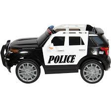 for kids police vs car 12v ride on police car with parent controller black u2013 best