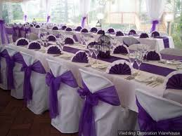 purple chair sashes emily kevin are a wedding and the winner is