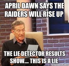 Raiders Meme - dawn raiders meme