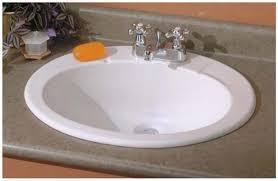 oval drop in sink nice ideas drop in bathroom sinks oval remodel the fluted sink is 16