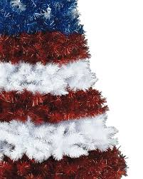 stars and stripes christmas tree treetopia
