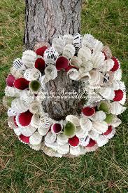 paper christmas wreath u2014 crafthubs