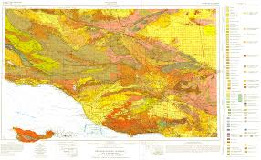Map Los Angeles Ca by Usgs Infobank Image Overlays Los Angeles Geology