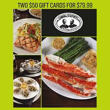 food gift cards restaurants unlimited inc two 50 gift cards