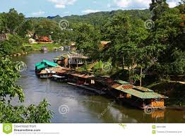 floating houses in thailand stock photo image 55914089