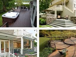 Backyard Decking Ideas by Cool Backyard Decking Designs With Small Backyard Deck Designs