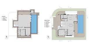 basement ground floor plan intriguing contemporary villa in