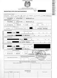 demander acte de mariage témoignagne un mariage civil en colombie formalités démarches