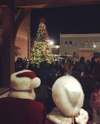 christmas tree lighting 2018 2018 city christmas tree lighting