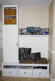 Mudroom Storage by Interior White Wooden Mudroom Storage Match Witch Wooden Tiles
