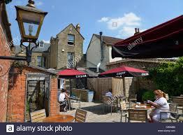 costa coffee shop outdoor terrace cheap street sherborne dorset