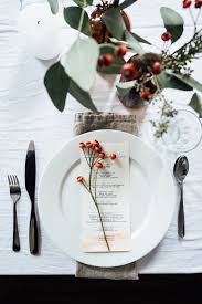 Christmas Table Settings Ideas Xmas Table 10 Simple And Effective Ideas Italianbark