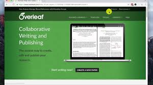latex tutorial overleaf overleaf upload latex files to a new project youtube