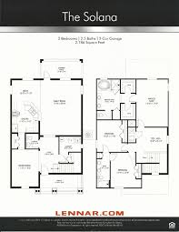 Garden Floor Plan by Solana Floor Plan In Independence Winter Garden Fl Independence