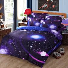 Space Bed Set Idouillet 3d Print Galaxy Outer Space Bedding Set 3 Or 4 Pieces