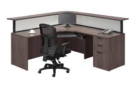 Reception Desk Black by Borders Plus Reception Package Source Office Furniture