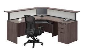 Double Reception Desk by Reception Desks Source Office Furniture Canada
