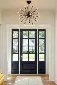 Front Door Interior How To Make Black Interior Doors Work For You Hale Navy Benjamin