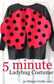 ladybug costume 5 minute ladybug costume 30 minute crafts