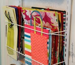 ways to store wrapping paper hanging gift wrap storage wall mounted wrapping paper organizer
