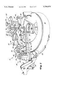 patent us5784870 power lift mechanism for mower deck google