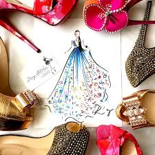 live fashion sketching neiman marcus last call diary sketches
