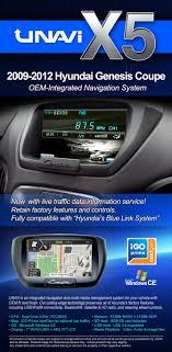 hyundai genesis coupe navigation system integrated navigation system for hyundai genesis coupe 2009 2012