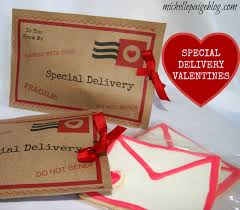 valentines delivery blogs letter cookies and parcel