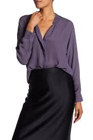 purple silk blouse vince sheer silk blouse nordstrom rack