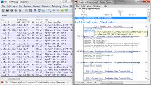 wireshark tutorial analysis sequence diagrams from wireshark pcap visualether