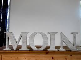 Dekobuchstaben Wohnzimmer Schriftzug Moin 54 Individuelle Produkte Aus Der Kategorie