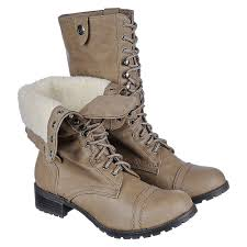 s fold combat boots size 12 shiekh oralee s s taupe fold combat boot shiekh shoes
